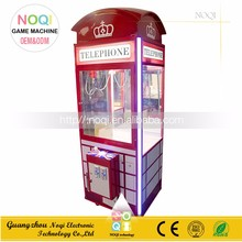 Competitve price toy crane machine arcade claw machine for sale direct sale from factory