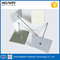 Building Material Heat Insulation Rock Wool perforated base Pin For Australia And Japan Standard
