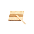 Disposable biodegradable  high quality eco friendly wooden ice-cream popsicle sticks for sale