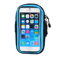 Running Jogging Cycling Sport Gym Keys Pouch Arm Wrist Bag Case Mobile Phone