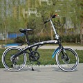 2015 biycle manufacture wholesale best quality bike folding 7 speed folding bike