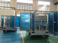 China Double Stage Transformer Oil Centrifuging Machine with Mounted Trailer