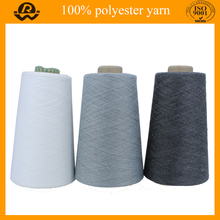 Certified Cheap 50/1 Polyster Yarn Monofilament Polyester Ring Spun Yarn