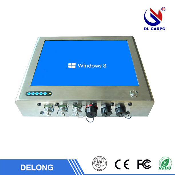 IP65 waterproof 15 inch industrial touch panel pc