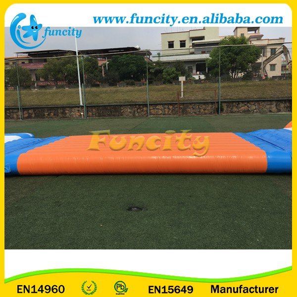 Airtight Inflatable Obstacle Water Park , Inflatable Floating Water Park Games