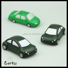 promotional stress car pu toy