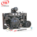 Cheap price chinese manufacturer 4.5kw mini silent 3 cylinder heavy duty industrial piston type air compressor with CE