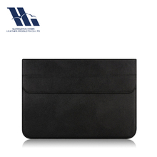 Customized Faux Leather PU Laptop Sleeve
