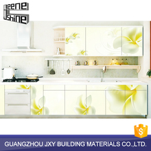JeeneShine new custom design colorful modular kitchen cabinet