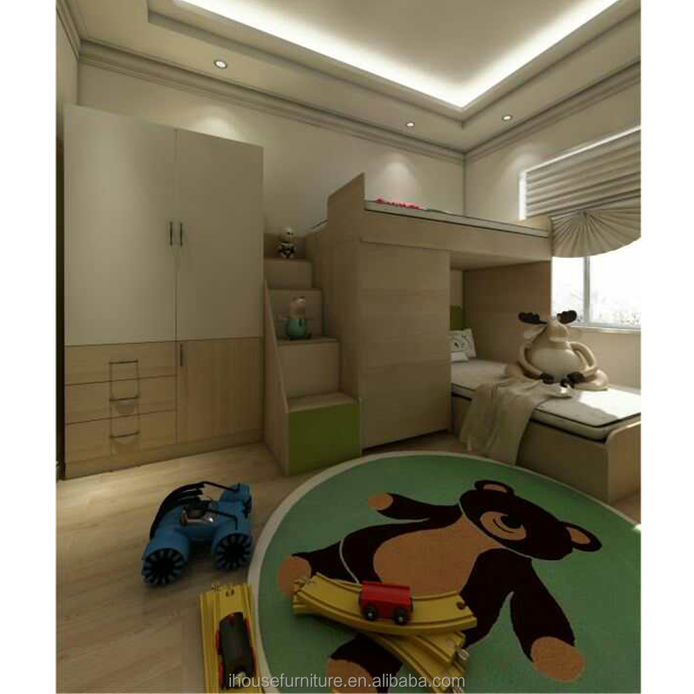China Modern Children Bunk Bed Sales/Modern Kid Beds