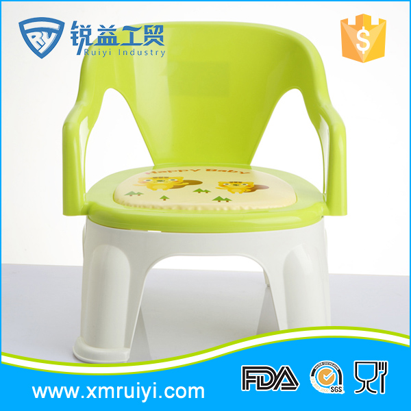 Unique design popular indoor lovely plastic chair kids