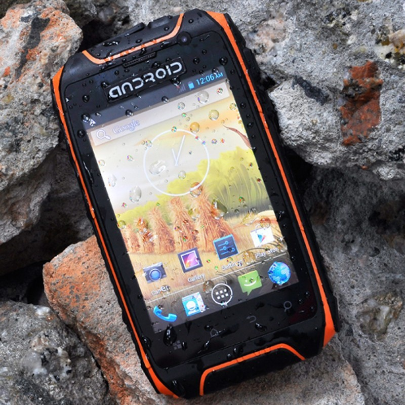 Mobile Manufacturing Company Rugged H1 + Android smart phone