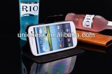 Hot selling for samsung galaxy s3 siii i9300 flip leather case accept paypal