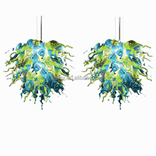 Modern Customized hand blown murano glass sea spray art hanging lamps