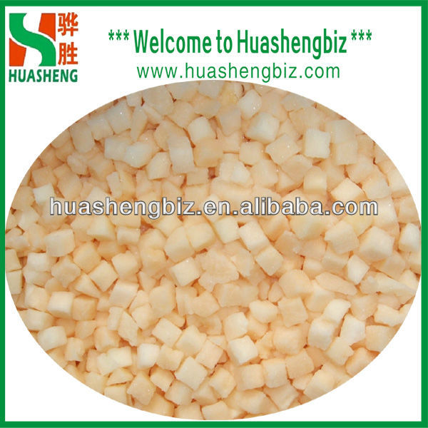 Wholesale IQF honey yellow melon dice price