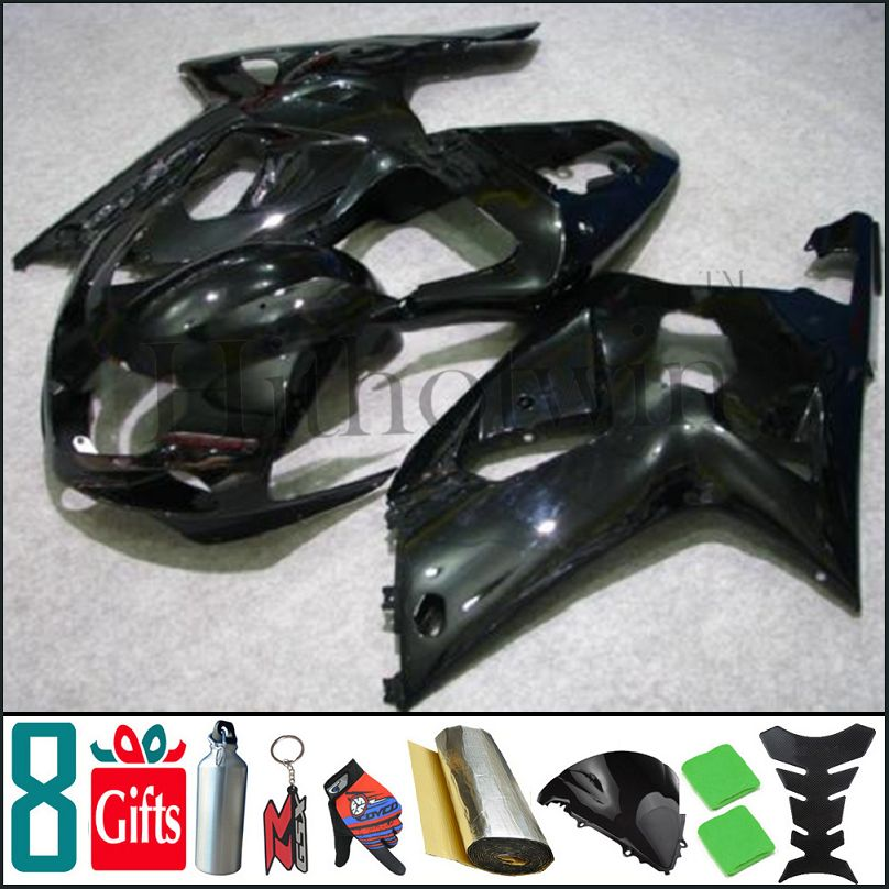K1 2001 2002 2003 GSXR600 GSXR750 2001 2002 2003 all brilliant black pure black Fairing For Suzuki GSXR GSXR750 GSX <strong>R</strong> 600 750 <strong>01</strong>