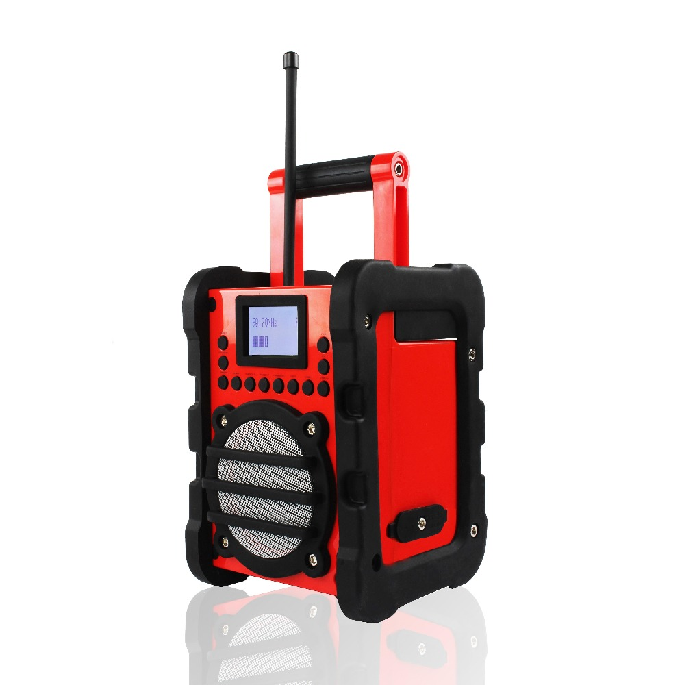 Touch switch site radio acoustic quality supports DAB/FM function