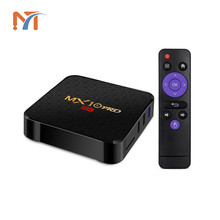 Android TV box Allwinner H6 quad core 4g rom 32g ram MX10 pro tv player 2.4G wifi HD2.0 KD17.3 set top box supports 6K