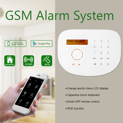 New GSM alarm with cheap price, Sensor Detector Burglar Wireless GSM Alarm Home Security System