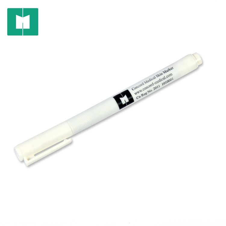 Made in china purple skin <strong>color</strong> marker sterile surgical marker pen