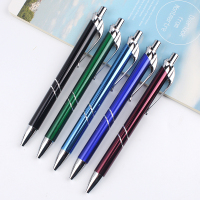 New 2016 promotional printing custom logo metal ball pen ballpoint pen with logo