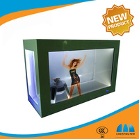 Most Popular cheap goods from china /advertising equipment/Transparent lcd Display Advertising Player