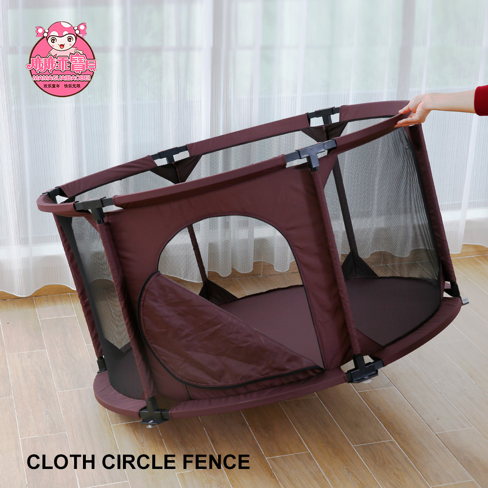 Portable Foldable Pet Playpen or Baby Playpen with Oxford Cloth