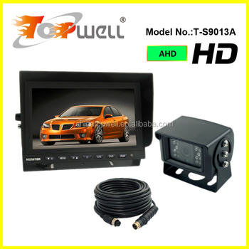 DC12V & 24V 960P HD AHD 9'' Reverse Camera Kit with Heavy Duty IR Camera