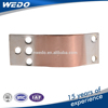 laminated copper electrical conductor joint
