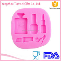 Fashion Cosmetic Chocolate 3d Silicone Face Molds