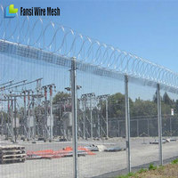 High Density Mesh prison fence 358 fence for perimeter barrier security(anti climbing fence for sale)