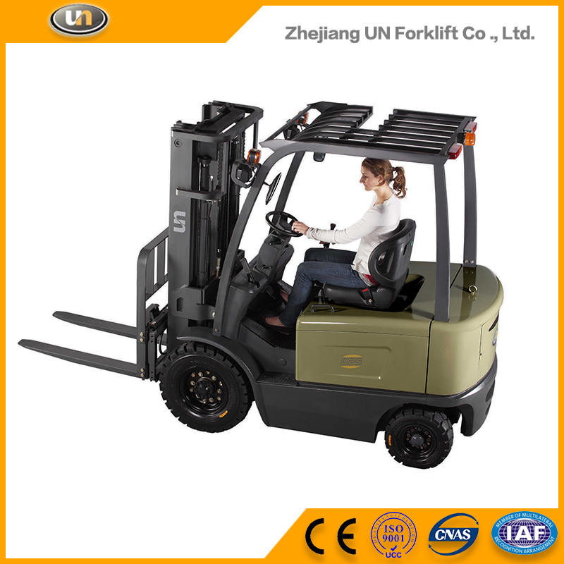 China Factory OEM Service Four Wheeler 2.5T Mini Electric Forklift