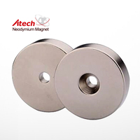 Round Magnet Disc Button With Ndfeb