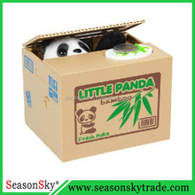 Panda Material Shape Plastic Money Box Coin Bank Saving Box