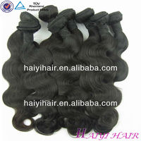 Factory Wholesale Unprocessed Hair/european weaving hair
