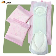 Manufacturer Colorful Pattern Female Feminine Comfort Bio Sanitary Pad