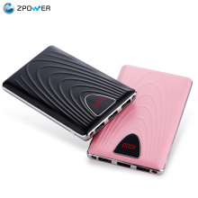 Alibaba china market 8000mah rohs mobile slim power bank