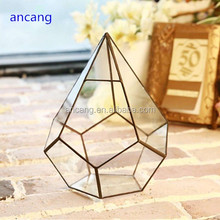 Hot indoor lovely micro clear glass terrarium for table decor vases on sale Alibaba shop