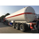49KL 13 gallons anhydrous ammonia 2.22Mpa lpg transport truck semi trailer