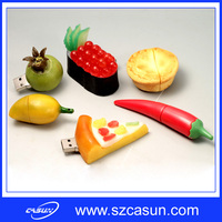 2016 Promotion Gift Custom Fruit & FOOD USB Flash Drives Wholesale