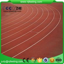 Athletic Running Track Paving Machines Material