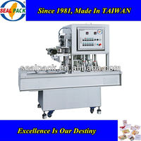 Excellent Service Automatic Plastic Tray Sealing Machine