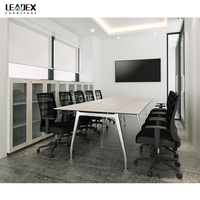 Leadex Luxury Conference Room Meeting Desk For Office Furniture