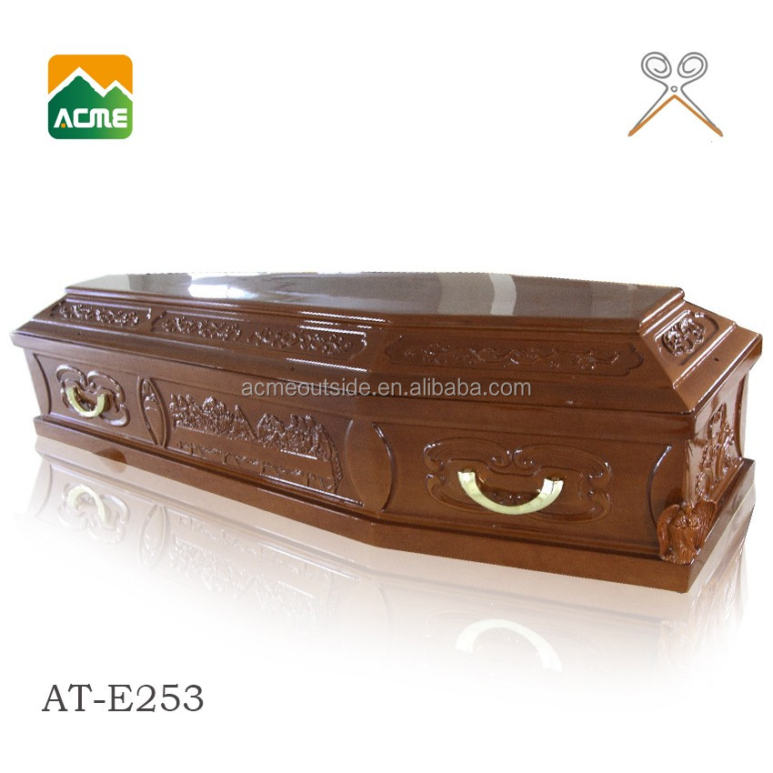 luxury cardboard coffin box supplier