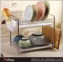 Steel shelving table storage stand kitchen unique dish rack