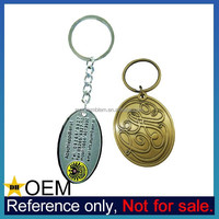 Wholesale Cheap Custom Enamel Nautical Metal Engraved Brass Keychain