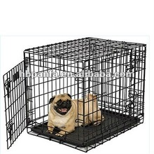 Pro - Triple Door Pet Crate/ electro-coat finish/pet doors