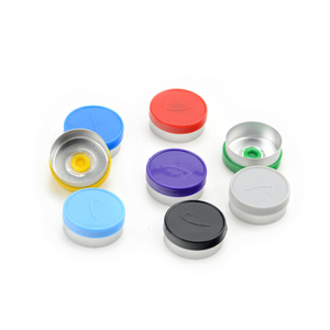 Customized vial cap wholesale Aluminum flip off Caps 20mm