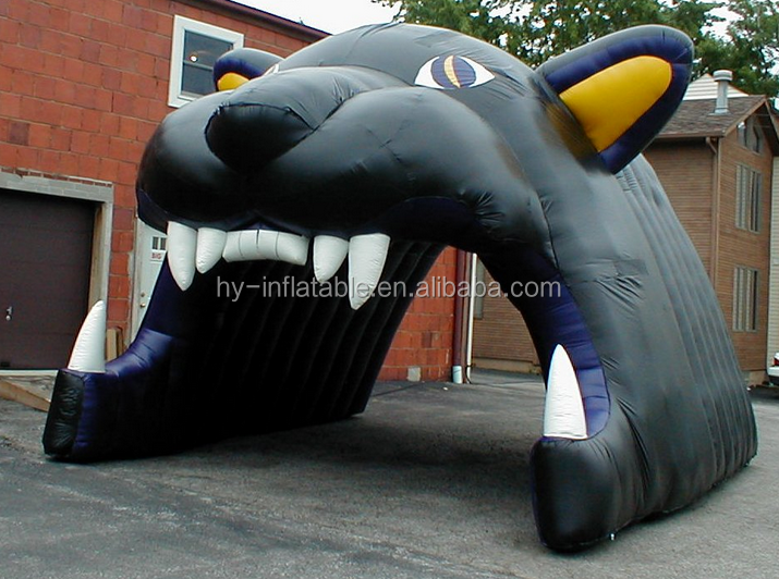 Amanda the Panther Inflation Inflatable