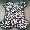 dirt trapping microfiber bone shape dog rugs